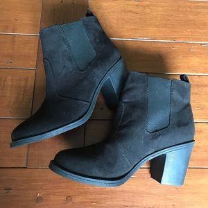 H&M Black heeled booties